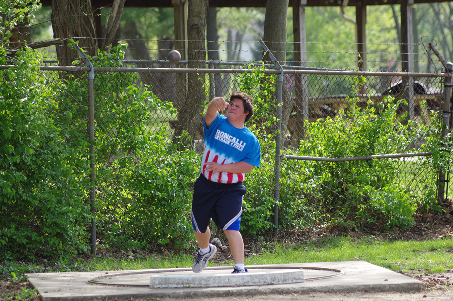 Roncalli Rebels Unified Track Team In Action