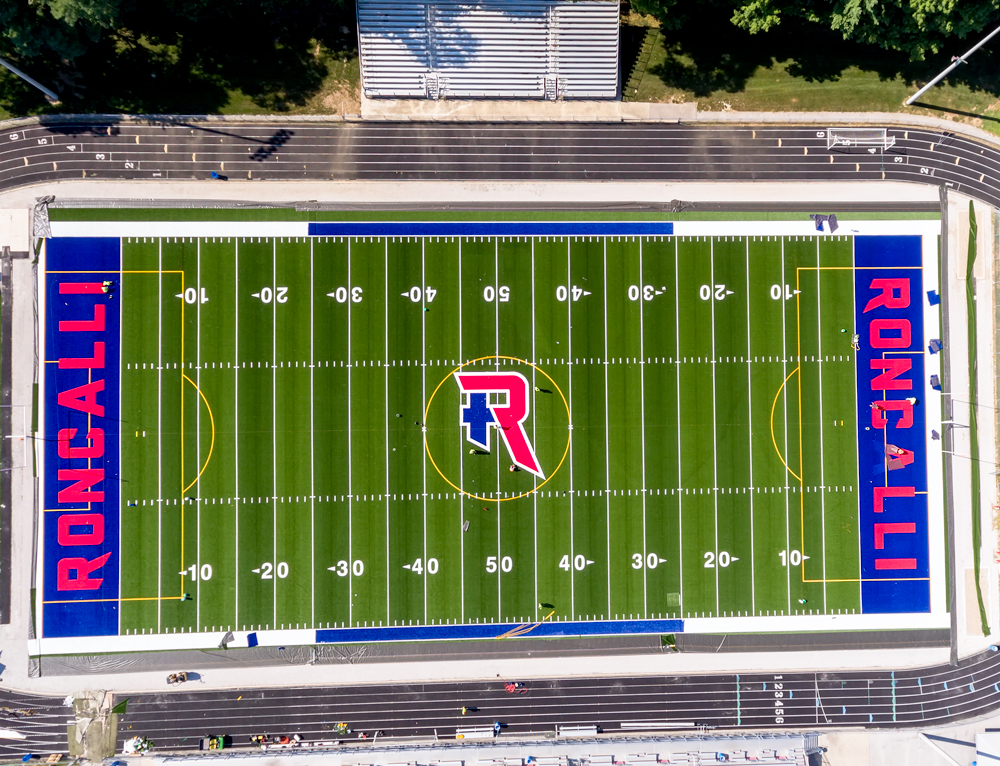 Image result for roncalli football field