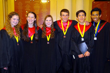 RHS Singers Perform with Indiana's All-State Choir