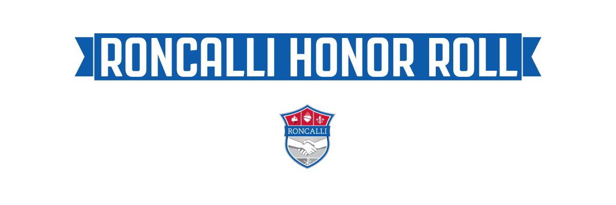 Roncalli Honor Roll Banner