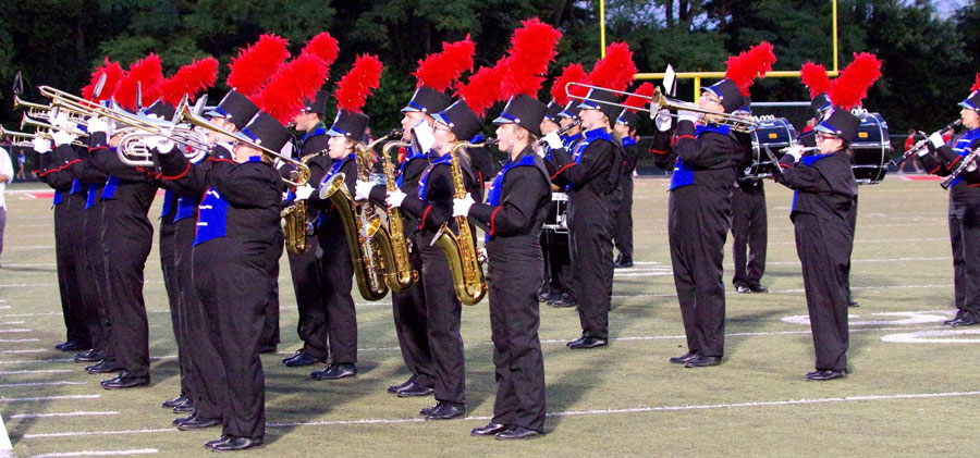2017 Gold Rating Marching Band