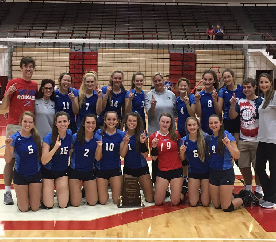 2017 Volleyball Marion County Champions